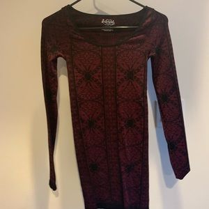 free people intimate long sleeve dress